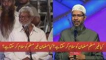 Kya Muslmano Gher Muslim ko Aur Gher Muslim Muslman ko Slam kar skta hai Kya By Dr Zakir Naik