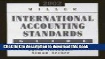 Read Miller International Accounting Standards Guide 2002 (Miller International Accounting