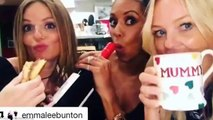 Geri Horner, Emma Bunton and Mel B prove wild girls' nights aren't what they used to be