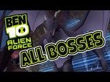 Ben 10: Alien Force All Bosses | Boss Battles (PS2, PSP, Wii)