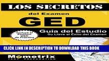 New Book Los Secretos del Examen GED Guía del Estudio: Repaso del Examen GED para el Pruebas de