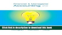Read Financial   Managerial Accounting, 1-14   MyAccountingLab with Full eBook Student Access Code