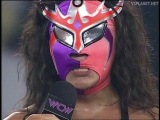 Juventud Guerrera interview, WCW Monday Nitro 26.08.1996