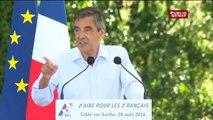 """François Fillon :""""Les français méritent autre chose qu'un duel entre un Président battu et un Président dont.."""