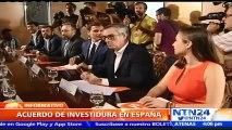 Mariano Rajoy, investidura, Albert Rivera, España, Gobierno, formar gobierno, acuerdo, firma, avance, humo blanco, liberales, izquierda, Podemos, PP, Ciudadanos,