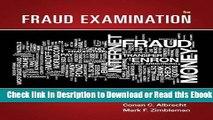Fraud Examination Free Ebook
