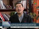 Bolivia: suman 40 detenidos por su vinculación al asesinato de Illanes
