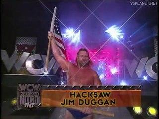 Jim Duggan vs Giant, WCW Monday Nitro 26.08.1996