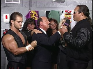 Benoit and Mongo interview, WCW Monday Nitro 26.08.1996