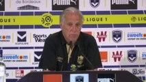 Foot - L1 - Nantes : Girard «On a du mal à finaliser»