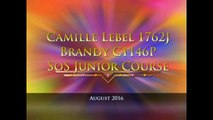 Camille Lebel and Brandy - Summer of Sport - Junior Course August 2016