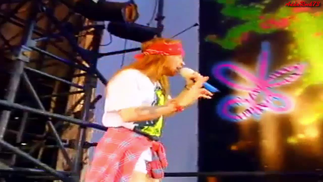 Guns N' Roses – Knocking on Heavens Door (Freddie Mercury Tribute Concert, 1992)