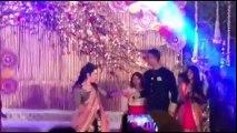 Radhika Sharath Kumar Daughter Rayane Sangeet Video-trendviralvideos