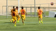 [HIGHLIGHTS] FUTBOL JUVENIL: Mercantil-FC Barcelona (0-4)