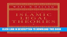 [PDF] A History of Islamic Legal Theories: An Introduction to Sunni Usul al-fiqh Full Online