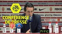 Conférence de presse AS Monaco - Paris Saint-Germain (3-1) : Leonardo JARDIM (ASM) - Unai EMERY (PARIS) - 2016/2017