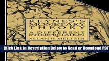 [Get] Keynes s Monetary Theory: A Different Interpretation Popular Online