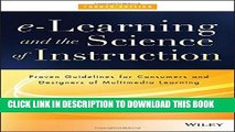 [PDF] e-Learning and the Science of Instruction: Proven Guidelines for Consumers and Designers of