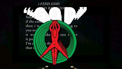 """Bon Iver - 33 """"GOD"""" - Official Lyric Video"""
