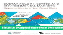 [Get] Sustainable Investing and Environmental Markets: Opportunities in a New Asset Class Popular