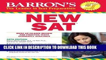 New Book Barron s NEW SAT, 28th Edition (Barron s Sat (Book Only))