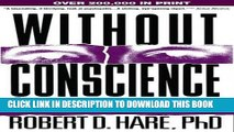 Collection Book Without Conscience: The Disturbing World of the Psychopaths Among Us
