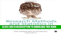 [PDF] Research Methods and Statistics in Psychology (SAGE Foundations of Psychology series) Full