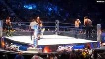 WWE SmackDown 29 Aug. 2016 John Cena,Dean Ambrose,Roman Reigns Vs. Seth Rollins,Wyatt Family