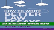 [PDF] How to Write Better Law Essays: Tools   Techniques for Success in Exams   Assignments