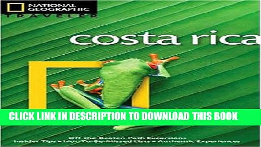 [PDF] National Geographic Traveler: Costa Rica, 3rd Edition Full Colection | Godialy.com