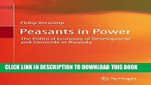 [PDF] Peasants in Power: The Political Economy of Development and Genocide in Rwanda Popular