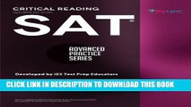 Collection Book SAT Critical Reading Workbook (Advanced Practice Series) (Volume 4)