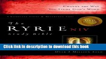 Read The Ryrie NIV Study Bible Bonded Leather Black Red