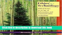 Read Ethics and Technology: Ethical Issues in an Age of Information and Communication Technology