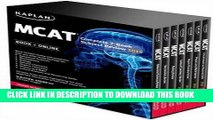 New Book Kaplan MCAT Complete 7-Book Subject Review: Created for MCAT 2015 (Kaplan Test Prep)