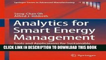 [PDF] Analytics for Smart Energy Management: Tools and Applications for Sustainable Manufacturing