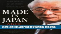 [PDF] Made in Japan : Akio Morita and Sony Full Colection