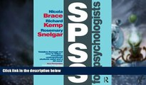 Big Deals  SPSS for Psychologists: Fifth Edition  Best Seller Books Most Wanted