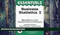 Big Deals  Business Statistics I Essentials (Essentials Study Guides)  Free Full Read Best Seller