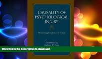 READ  Causality of Psychological Injury: Presenting Evidence in Court  PDF ONLINE