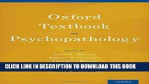 Collection Book Oxford Textbook of Psychopathology (Oxford Textbooks in Clinical Psychology)