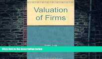 Big Deals  Valuation of Firms  Best Seller Books Most Wanted