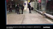 Un homme déguisé en Zorro sème la panique à l'aéroport de Los Angeles
