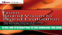 New Book From Brand Vision to Brand Evaluation