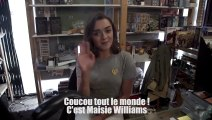 Arya Stark fait une surprise à ses fans - Game Of Thrones - Maisie Williams
