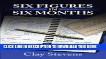 New Book Six Figures in Six Months