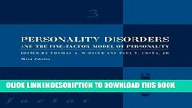 Collection Book Personality Disorders and the Five-Factor Model of Personality