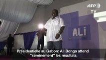 Bongo attend «sereinement» les résultats de la présidentielle