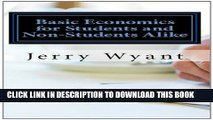 [PDF] Basic Economics for Students and Non-Students Alike Full Online