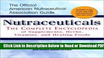 [PDF] Nutraceuticals: The Complete Encyclopedia of Supplements, Herbs, Vitamins and Healing Foods